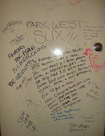 Bathroom Stall Poems um employee not a fan of bathroom stall poetry | tropical disturbance
